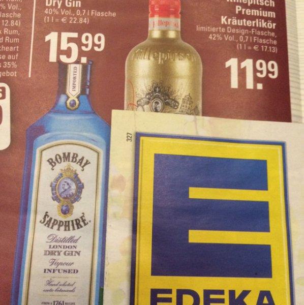 Bombay Sapphire Dry Gin [Lokal? Dinslaken] 15,99