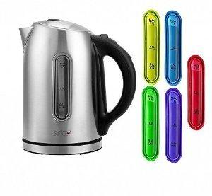 Edelstahl Wasserkocher mit Temperaturwahl Sinbo eBay