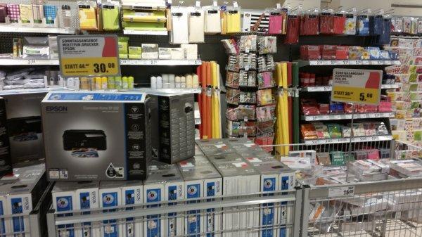 [Lokal] Rewe Billstedt-Center Epson Multifunktionsdrucker 30,- und Philips Kopfhörer 5,-
