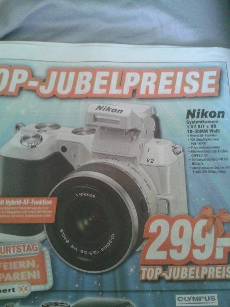 [Lokal Expert Langenhagen] Nikon 1 V2 Kit+ VR 10-30mm WEIß