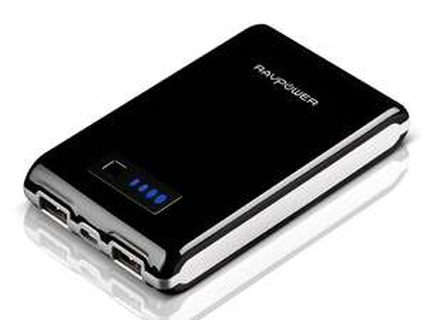 RAVPower 10.400 mAh Powerbank Rabattaktion