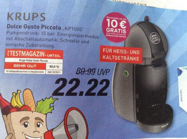 Marktkauf: Dolce Gusto Piccolo von Krups