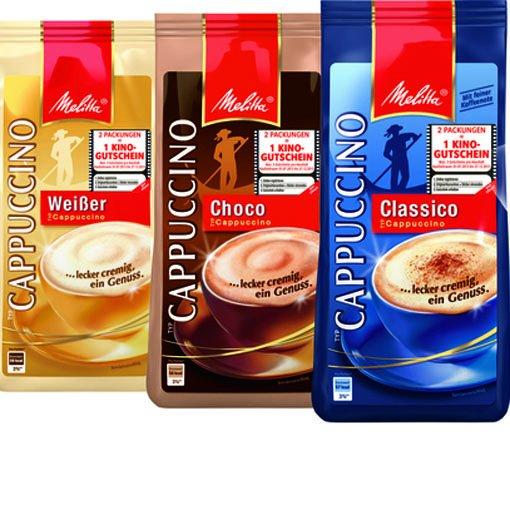 30% sparen mit dem Melitta Cappuccino; ab Mittwoch bei Netto MD