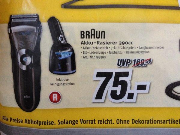 [Lokal] Braun 390cc Rasierer Albstadt u. Sigmaringen