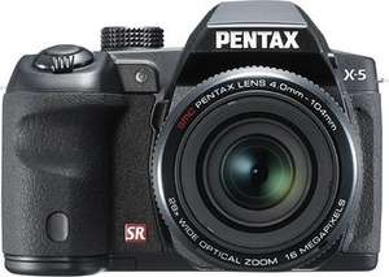 Pentax X-5 All-in-One Digitalkamera (16 Megapixel, 26-fach opt. Zoom, 7,6 cm (3 Zoll) Display, Full HD) @Null.de  159,98€
