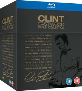 [amazon.uk] Clint Eastwood 20-Film Collection [Blu-ray] inkl. Vsk für ca.72 €