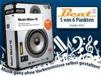 Gratis Magix Music Maker 16 OEM @Pearl, nur Versandkosten 4,90 Euro