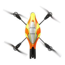 Parrot AR.Drone Orange-Gelb inklusive Ersatzakku