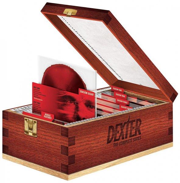 Dexter - Die komplette Serie in Bloodslide Box [Blu-ray] für 141,83€ @Amazon.it