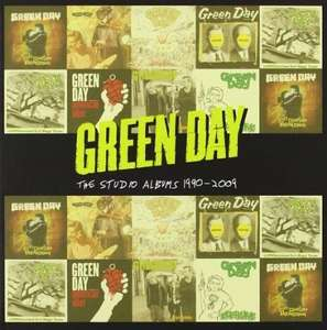 (UK) Alle Studioalben (1990-2009) von Green Day für 19.33€ @ Amazon.UK