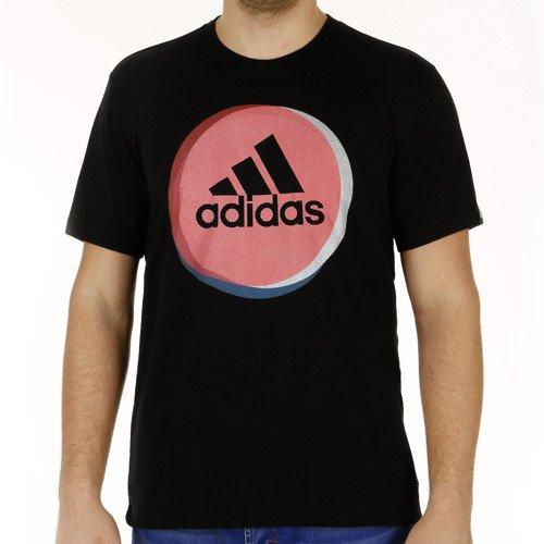 Adidas Performance Circle Tee schwarz - Stark reduzierte ware bei jogging-point.de