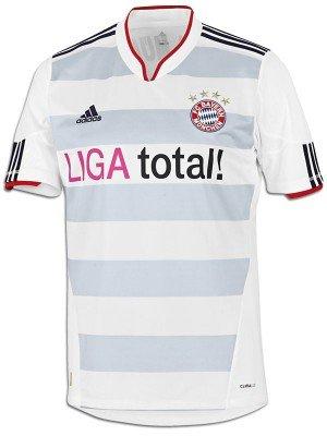 FC BAYERN MÜNCHEN TRIKOT AWAY 2010/2012 bei Outfitter für 13,46€