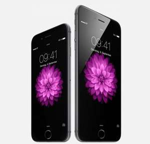 Quelle.de: Apple iPhone 6 (16GB: 624€) & 6 Plus (16GB: 724€) mit bis zu 10,1% Rabatt