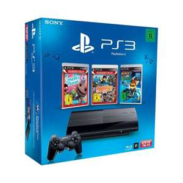 PlayStation 3 mit 12 GB + 3 Spiele um 202,30 (inkl. Versand) bei hitmeister