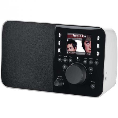 Squeezebox Radio White (Limited Edition) - mit edler Verpackung - für 94 Euro statt 179 Euro bei Logitech