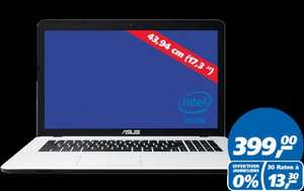Asus F751MA-TY096H - Real-Deal nur heute im Markt oder ab 18Uhr im Online-Shop