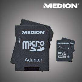 [Offline] 2 x 4 GB MicroSDHC Class 4 Medion @ Aldi-Nord ab. 01.09.11