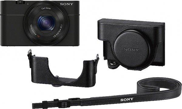 [Quelle] Sony DSC-RX100 inkl. Tasche LCJ-RXC Bridge Kamera 20,2 Megapixel, 3,6x opt. Zoom