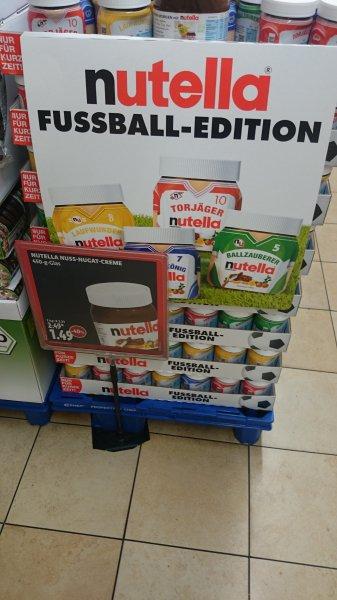 40 % Rabatt auf 450 g Nutella !!! 1,49 € statt 2,49 € deutschlandweit bei Kaisers