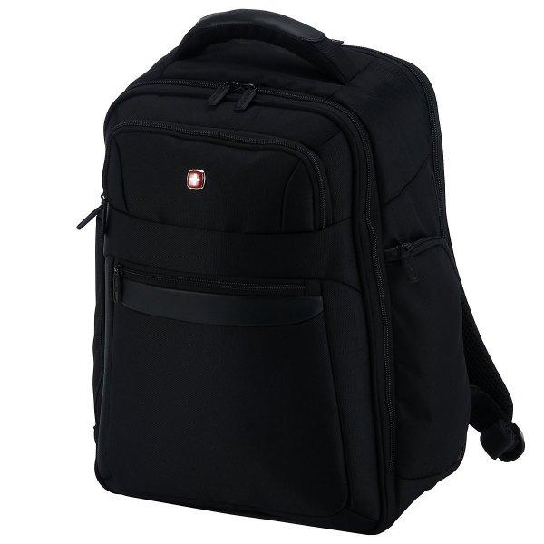 [3% Qipu] Wenger W73012291 Business Collection Laptop-Rucksack 17 Zoll mit Scan-Smart-Funktion, schwarz, 30 liters für 59,95€ frei Haus @DC