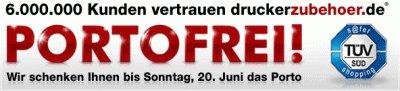 druckerzubehoer.de - Bis 05.10. versandkostenfrei ohne MBW bestellen