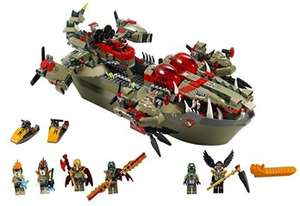 LEGO® Legends of Chima - 70006 Craggers Croc-Boot Zentrale @TOYSRUS