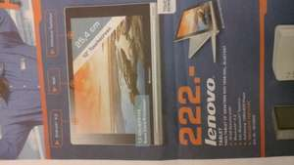 Lokal FFM: Lenovo Yoga 10 mit Bluetooth Tastatur für 222 €