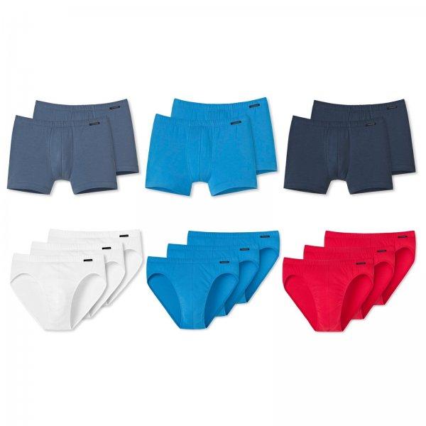 Ebay WoW: Schiesser Herren 2er Boxershorts oder 3er Slips versch. Farben Gr. M - XXL NEU