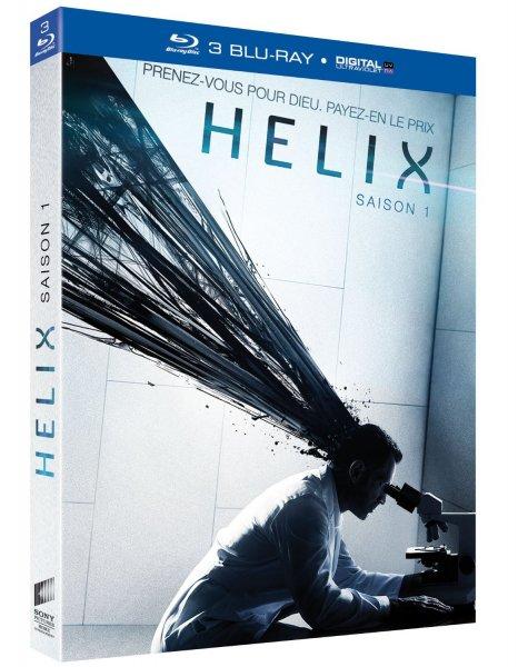 [amazon.fr] Helix - Die komplette erste Season (3 Discs) [Blu-ray+UV Copy] inkl. Vsk. 20,01 €