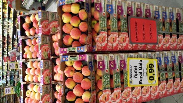 Apfel Royal Gala 2kg Kiste bei Edeka