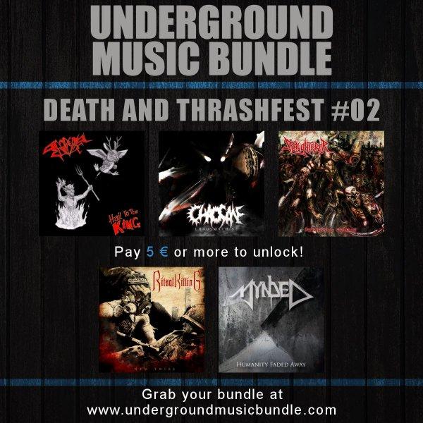 Underground Music Bundle - Death and Thrashfest 02
