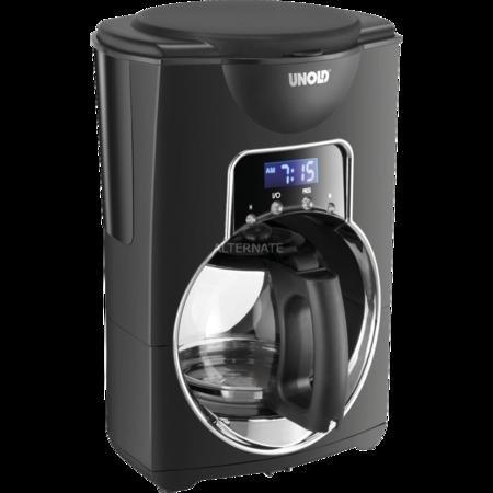 """Unold Kaffeemaschine """"Bola"""" (schwarz/silber) 16,99€ @ ZackZack - versandkostenfrei"""