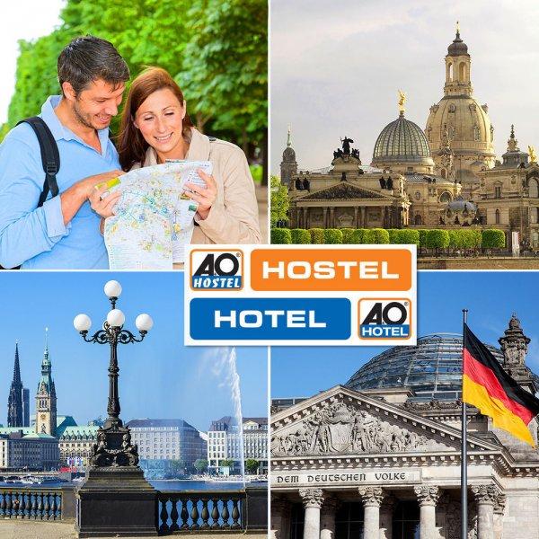 2 Übernachtungen für 2 Personen im A&O Hotel (nicht Hostel) für 49€ @ eBay