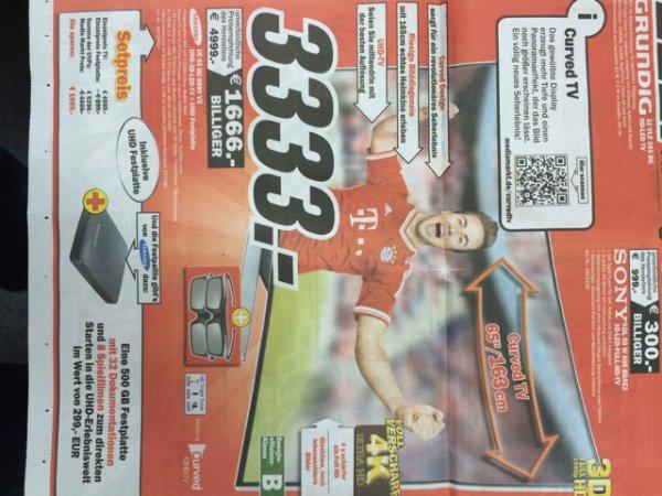 Lokal Mediamarkt weiterstadt samsung ue65hu8590vx für 3333. -  idealo ab 4299€