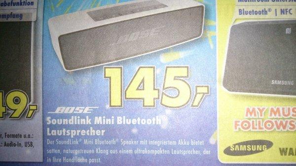[Ratingen Euronics] Bose Soundlink Mini 145€