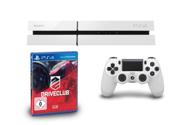 Playstation 4 weiß + DriveClub für 399€ bei amazon