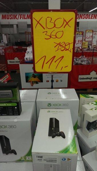 XBox 360 Arcade 4 GB 111€ Mediamark Würzburg Unterdürrbach