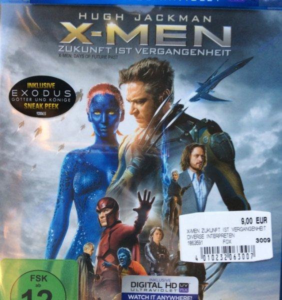 (Lokal MM-Weiterstadt) X-MEN Zukunft ist Vergangenheit Blu-Ray