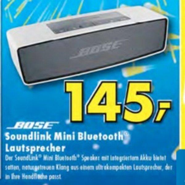 [LOKAL Ratingen] Bose Soundlink Mini Lautsprecher