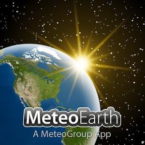 Meteoearth - Wetterapp mit präziser Vorhersage und 3D Grafik