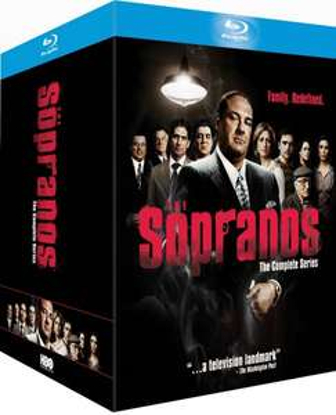 Sopranos - komplette Serie ( BluRay ) @theHut 99,52€ [UK Import]