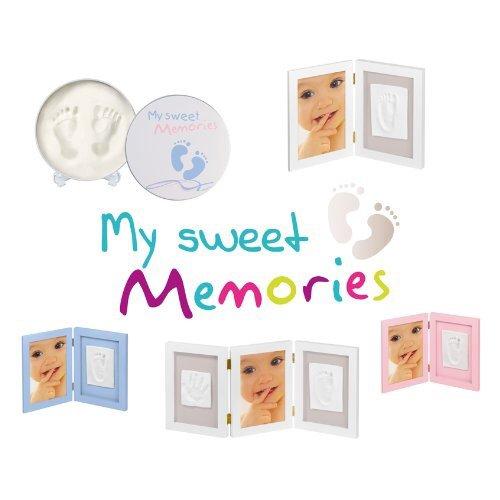 My Sweet Memories 3-teiliger Rahmen für Foto und 2 Babyabdrücke für 13,99 inkl VSK (sonst 19,99)