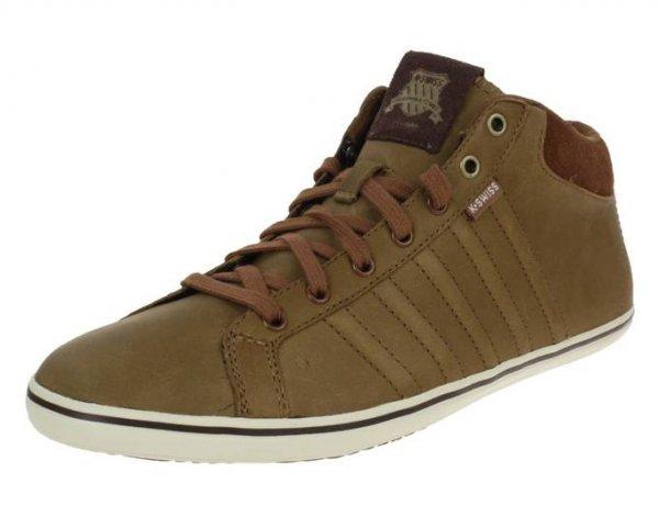 K-SWISS Hof IV P MID VNZ sommer Sneaker braun Leder 03146286 @ MeinPaket
