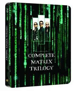 Matrix Trilogy Steelbook Blu Ray 16,66€ @Amazon Prime