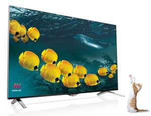 "LG 55UB820 4K UHD 3D 55"" ULTRA HD SMART TV für 999,-"