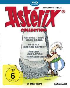 Asterix Blu-Ray Collection @amazon (Prime 12,14)