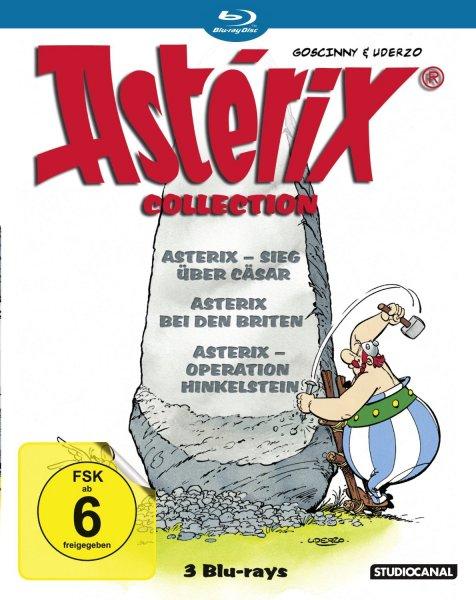Asterix Blu-Ray Collection @amazon (Prime 12,14)