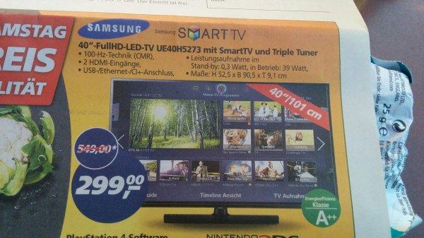 "[Lokal] Samsung 40"" UE40H5273"