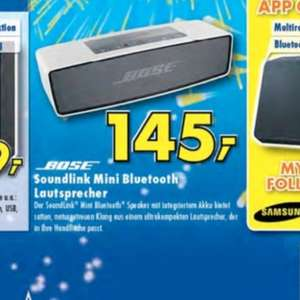 145€ Bose Soundlink Mini [Lokal] Ratingen Johann+ Wittmer Euronics