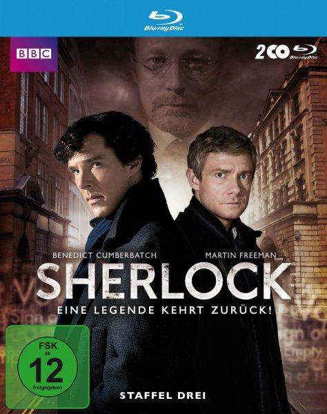 Sherlock - Staffel 3 [Blu-ray] 15,42 EUR (Amazon Prime); Staffel 1&2 zusammen 23,13 EUR